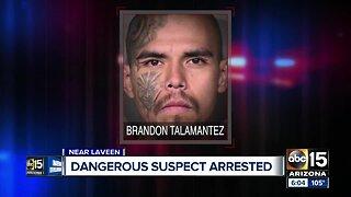 Dangerous suspect arrested