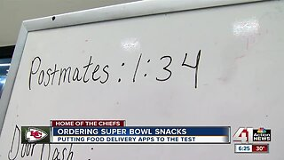 Ordering Super Bowl snacks