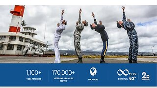 Yoga studio offers free yoga class to active, veteran military and first responders