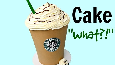 Is this the world's biggest Mocha Frappuccino?
