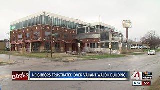 Neighbors express frustration over vacant Waldo building