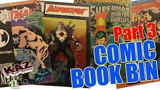 Comic Book Bin Part 3