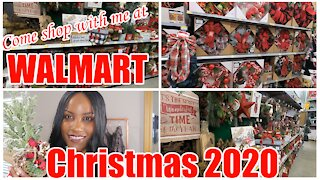 🎅#WALMART CHRISTMAS SHOP WITH ME 2020 | IN-DEPTH #CHRISTMAS TOUR🎄 AFFORDABLE FARMHOUSE DECOR