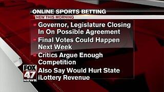 MI online sports betting