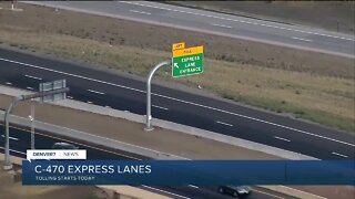 Tolling starts today for C-470 Express Lanes