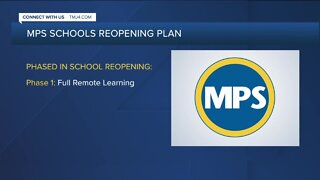 Milwaukee Public Schools unveils phased reopening plan
