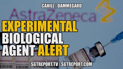 EXPERIMENTAL BIOLOGICAL AGENT ALERT! -- PROFESSOR DELORES CAHILL