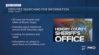 Hendry County Sheriff's Office asking for public's help with Brown Sugar Festival shooting