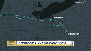 Hyperloop study released todau