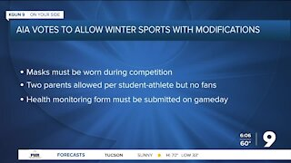 AIA to allow winter sports with modifications
