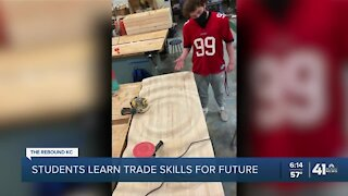Students learn trade skills for future