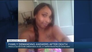 Family demands answers after woman dies in Harper Woods police custody