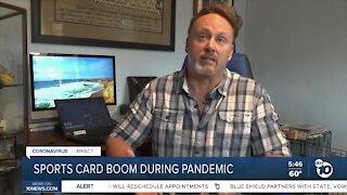 COVID Sports trading card boom