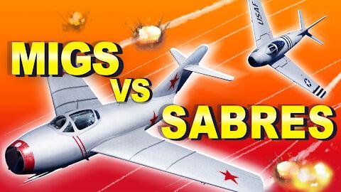 When Secret Soviet MiG Aces Fought US Sabres