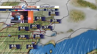 The mild weather continues