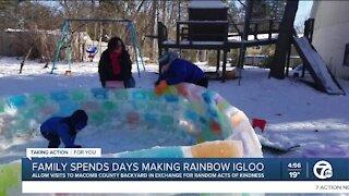 Rainbow Igloo In Macomb County