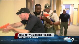 Free active shooter training in places of worship