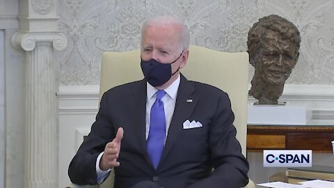 Biden Calls Texas and Mississippi Reopening 'Neanderthal Thinking'