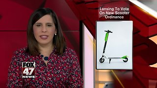Lansing City Council passes scooter ordinance