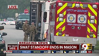 SWAT standoff over, children inside unharmed