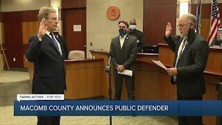 Macomb County announces public defender