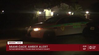 AMBER ALERT: Dad of missing South Florida newborn found dead in Pasco County, search continues for baby