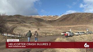 Helicopter crash near Horseshoe Bend