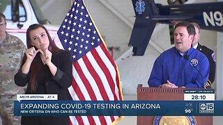 Expanding COVID-19 testing in Arizona