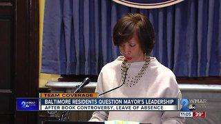 Baltimore residents question Mayor Pugh's leadership
