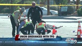 Complaints against TPD