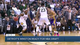 Detroit's Winston ready for NBA Draft