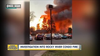 Massive fire levels Rocky River condo