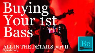 Bass Guitar Terminology. Part 2
