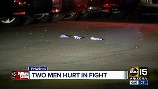 Two men hospitalized after fight in Phoenix