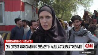 CNN Reporter: Taliban Are Chanting Death to America, But Seem Friendly at the Same Time