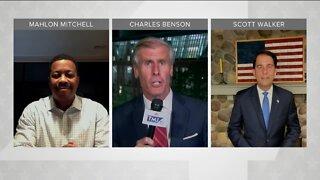 Political Panel: Scott Walker, Mahlon Mitchell discuss race, diversity, DNC night 3