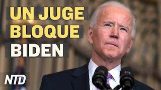 La Cour Suprême rejette des procès contre Trump; Un juge bloque un décret de Biden sur l'immigration