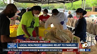 Local nonprofit continues to provide aid for families