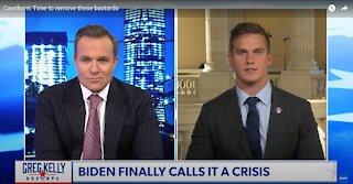 Newsmax: Who Is In Control of Joe Biden Reverse Speech