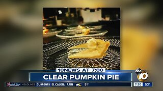 Translucent pumpkin pie?