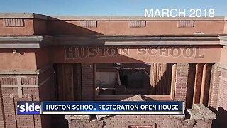 Huston School hosts open house for renovation update