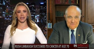 In Focus: Former NYC Mayor, Rudy Giuliani, on the Loss of Rush Limbaugh & Impeachment Aftermath