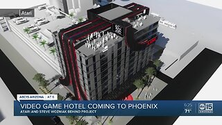 Atari looking to open a video game-themed hotel in Phoenix