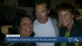 Booming film industry in Oklahoma