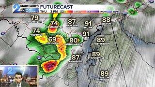 Severe Storms Arrive Thursday