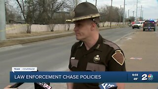 Law enforcement chase policies