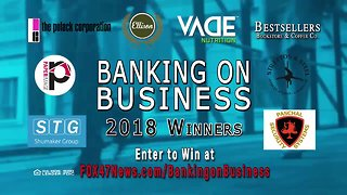 Banking on Business 2018 Winners