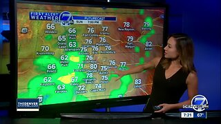 Another very warm day, with scattered afternoon storms