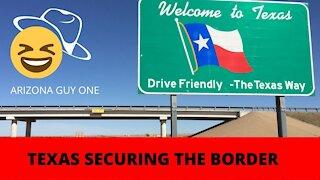 CONGRATULATIONS TEXAS!! BORDER SECURITY
