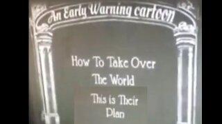 Early Warning Cartoon from 1930